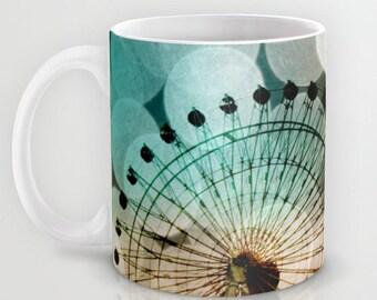Art Coffee Cup Mug At the Fair fine art photography Ferris Wheel home decor