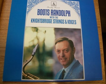 Boots Randolph LP Album, 1967 Music, Boots Randolph with The Knightsbridge Strings & Voices, Nanas Vintage Shop on Etsy