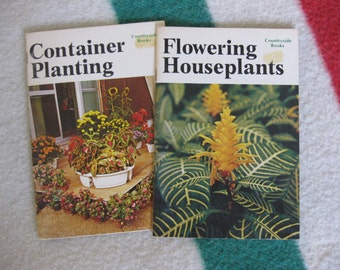 Container Planting and Flowering Houseplants by Countryside Books