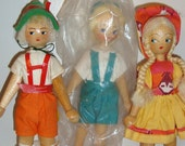 Flatfoot dolls from Poland