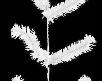 "White Deco Poly Mesh Garland XX724527, Poly Mesh Supplies, 12"" Wide x 9' Long"