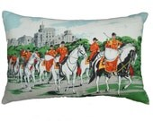 Vintage Queens Guards Cushion/Pillow
