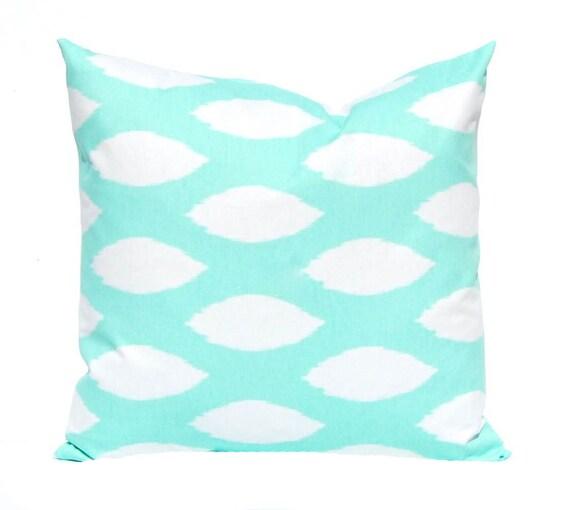 Throw Pillows In Mint Green : Mint Green Pillow Cover Decorative Pillow by CompanyTwentySix