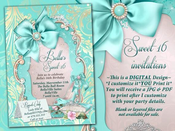 Mis 15 Anos Bracelet: Sweet 16 Invitations Quinceanera Mis Quince Anos Birthday