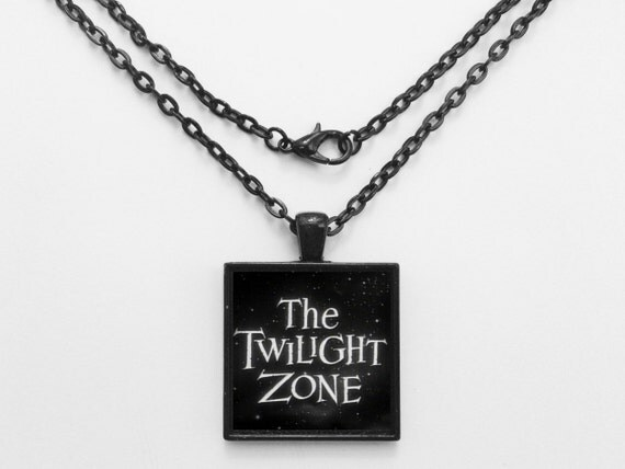 The Twilight Zone TV Show Necklace or Keychain