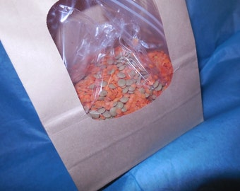 Red and Brown Lentil Soup Mix, Gourmet Soup at home, dry mix, vegan