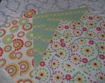 Blossom Collection 24 6x6 Sheets paper by 3 Bugs in a Rug