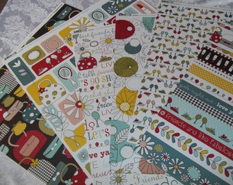 Sole Sisters Collection 24 6x6 Sheets paper by Imaginisce