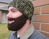 20% OFF Adult ULTIMATE Bearded Beanie Camouflage