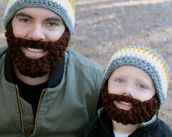 20% OFF Father/Son ULTIMATE Bearded Beanies!