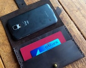 Bogart passport case, handmade leather case, travel wallet, leather passport ID holder, ID case, handmade leather cases by Aixa Sobin, maker