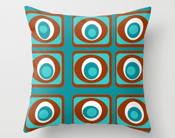 Modern Pillow, Mid Century Modern Throw Pillow, Modern Pillow, Modern Throw Pillow, Mid Century Modern Pillow, Retro Throw Pillow