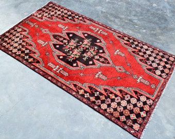 Vintage Persian 100% Wool Rug