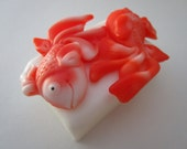GOLDFISH SOAP BAR - gifts for teens, Stocking stuffer for her, gifts for woman, goldfish soap, Christmas gift