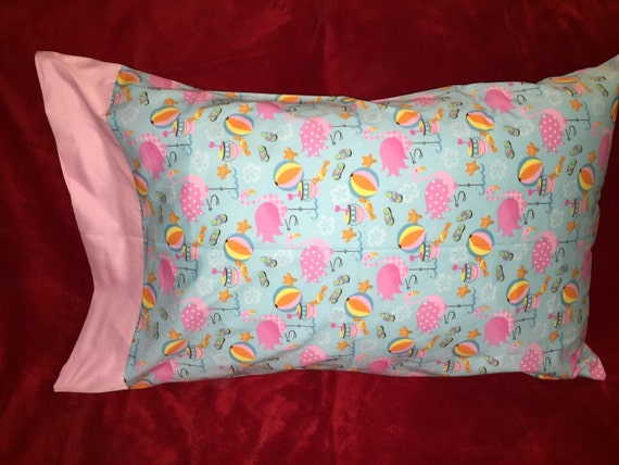 Cute flamingo pillow case 100% cotton Queen and Standard