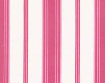 Verna Mosquera - Tea Cakes - Sugary Stripe in Raspberry - BTY cotton quilting fabric