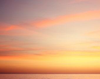 Pacific Sunset - 8x8 Fine Art Photograph