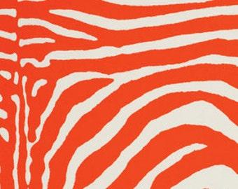 SALE One Yard SuperFly - Lauralee in Orange by Jennifer Paganelli