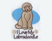 Labradoodle Tea Towel | Embroidered Towel | Embroidered Tea Towel | Personalized Kitchen Towel | Hand Towel | Embroidered Kitchen Towel