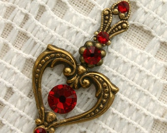 Crimson Heart Bindi