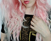 Lace Front Pink wig | Pastel wig, Ombre wig, Scene wig | Rave Raver wig, UV wig, Blacklight wig | Cotton Candy Dream