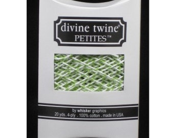 NEW-Divine Twine Petites (20 yards)-GREEN APPLE