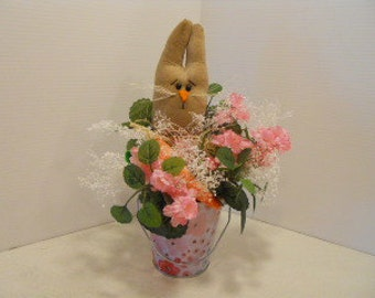 SPRING, Easter, Bunny Floral Plant