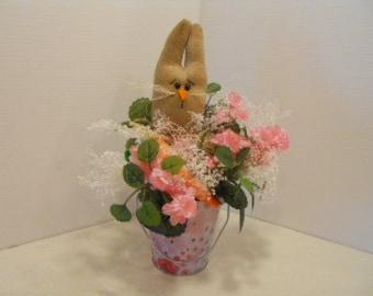 SPRING, Easter, Bunny Floral Plant