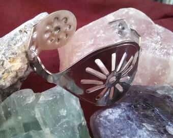 Absinthe Spoon Bracelet Silver