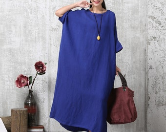 Oversized Loose Fitting Long Maxi Dress, Gown, Oversized Dress, Maternity Clothing, Dress