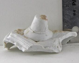 Vintage German Antique Excavated  Doll Hat