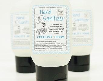 HAND SANITIZER - Citrus Essential Oils, antibacterial, hand wash, hand gel, natural, handmade