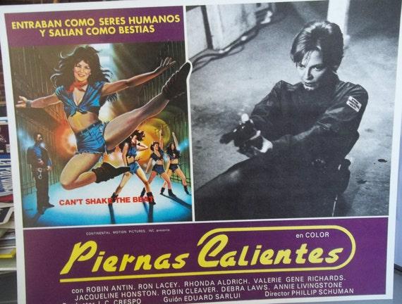 Piernas Calientes Hot Legs Movie Placard Spanish Language-9698