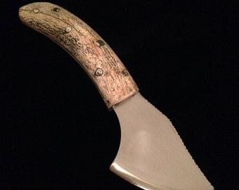 Handmade custom knife - Stainless Steel blade