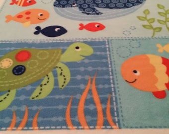 Ocean Friends Fleece Blanket