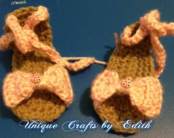 Baby Sandal with a Bow