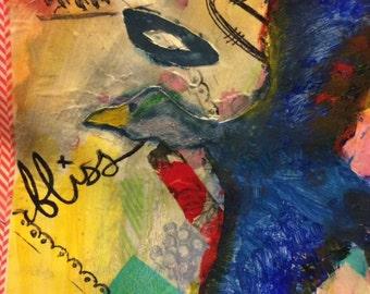 Mixed Media: Bird
