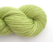 Sport Weight Cashmere Recycled Yarn, Chartreuse, 320 Yards, Lot 070515