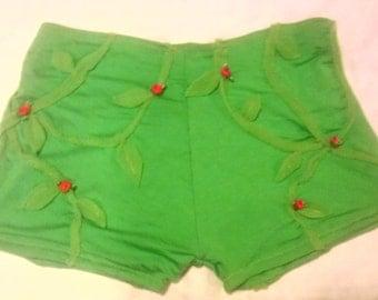 Poison Ivy Booty Shorts