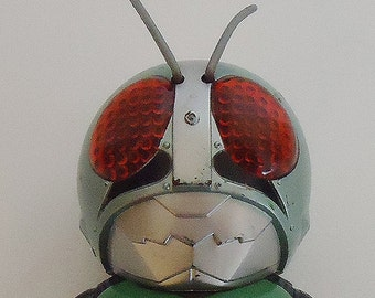 The Japanese Authentic Kamen Rider Figure Toy.70s.Rare finding