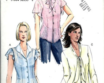 Vogue Misses 7935 Blouse And Camisole Top Sewing Pattern V7935 Size 12, 14, 16 UNCUT
