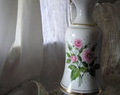 Sale  Gorgeous Rose Ceramic Lamp from Carla Jean's Vintage