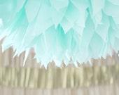mint ... 1 Pom // wedding decoration / party decor / bridal shower
