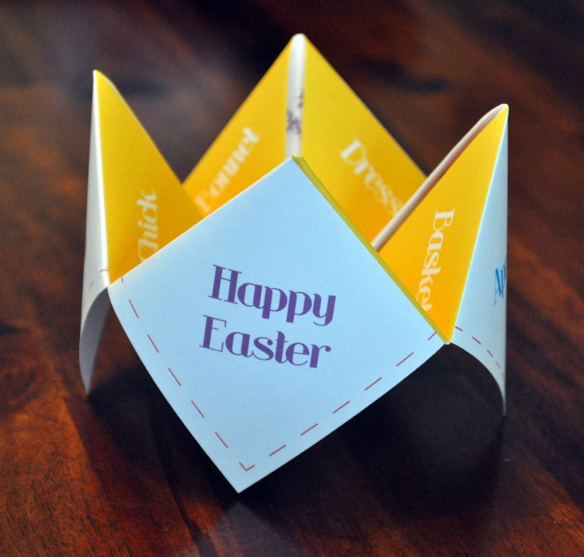 easter cootie catchers easter cootie catcher instant easter decoration 1916