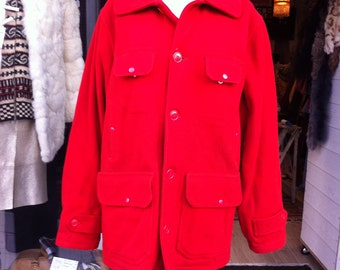 1940 Red Hunting Jacket Johnson