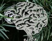 Cut out Brain Ornament