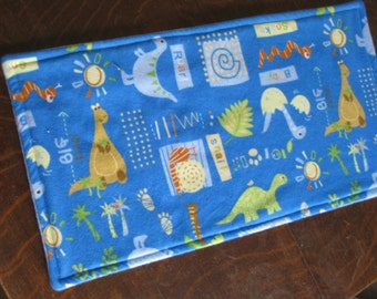 Baby Burp Cloth-  Flannel burp cloth- Terry cloth lined- Baby Accessory