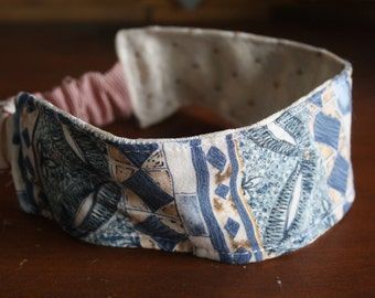 Eco reversible fabric headband