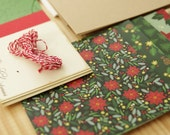 Merry Christmas Trees DIY Card Making Kit