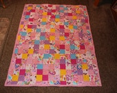 Reserved Listing for Lyn S. - AB Canada - Twin Size Patchwork Quilt